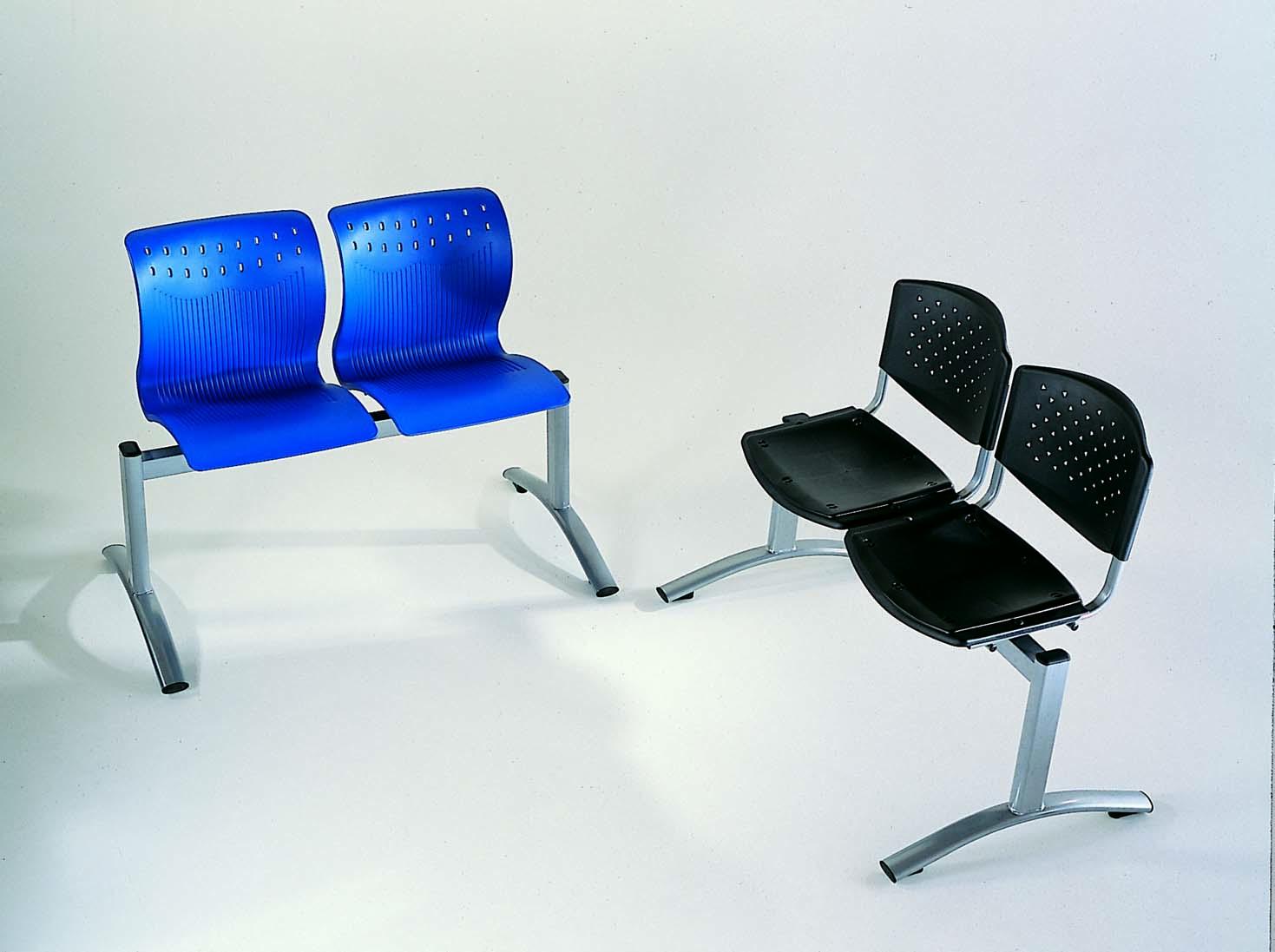 Muebles de oficina silla de espera tandem for Muebles de oficina k y v