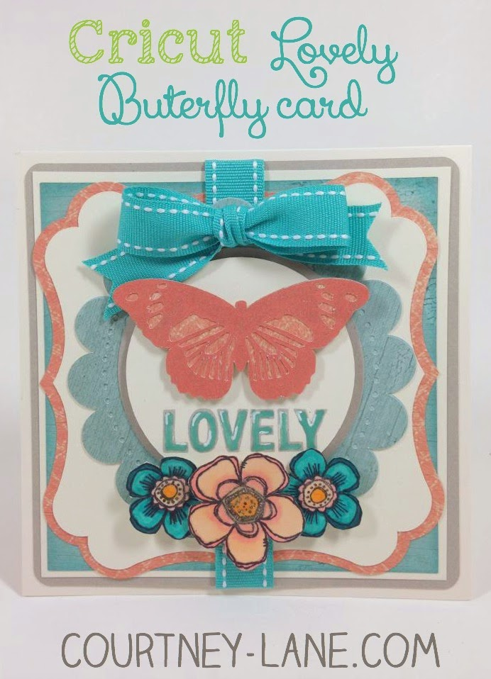 Lovely Butterfly card
