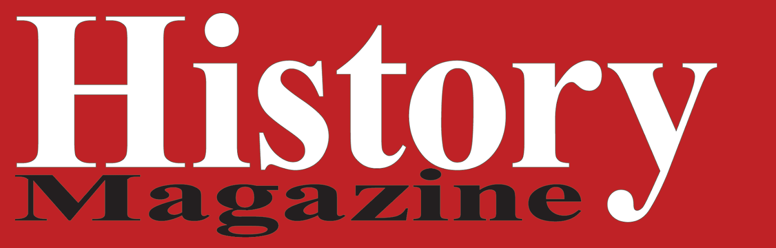Image of History Magazine banner