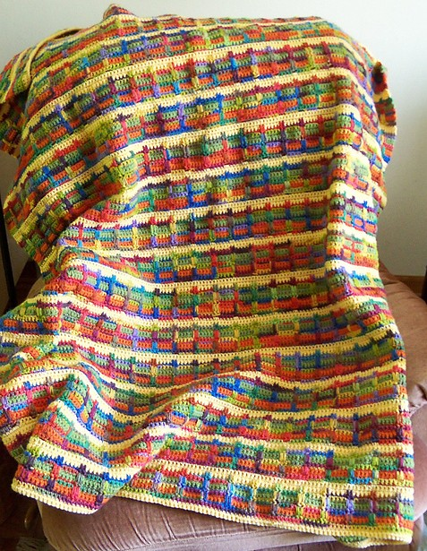 Brighter Days Blanket - Free Pattern