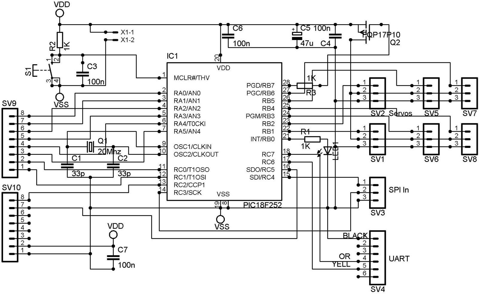 electrosolution  servo controller