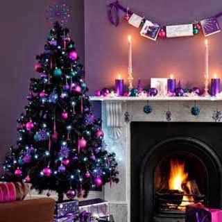 arbol de navidad de colores