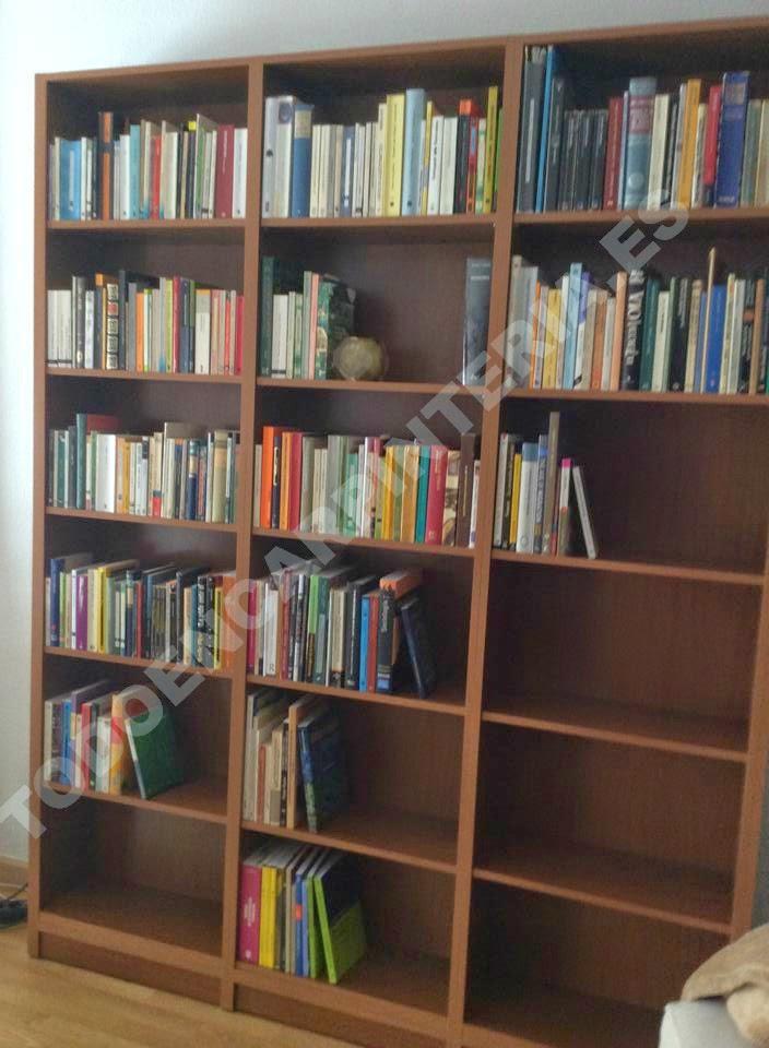 Mueble para clasificar libros de todos los tamaños.