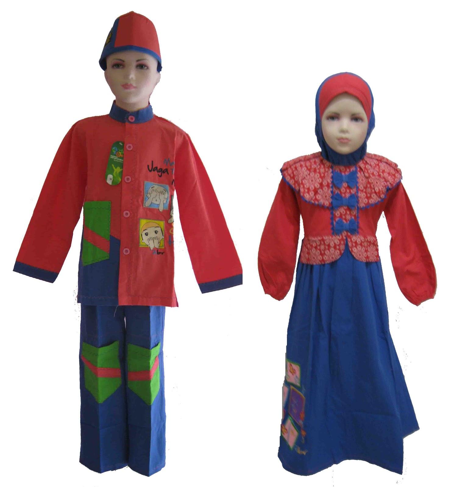 Seragam Baju Muslim Seragam Muslim Bahan Katun Kanvas