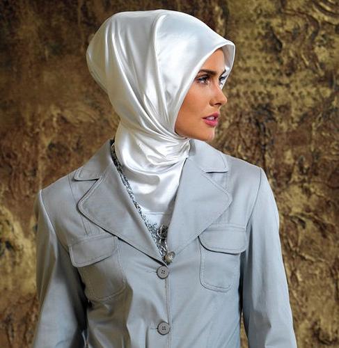 Jilbab Muslim Woman Turkish Hijab Style Images