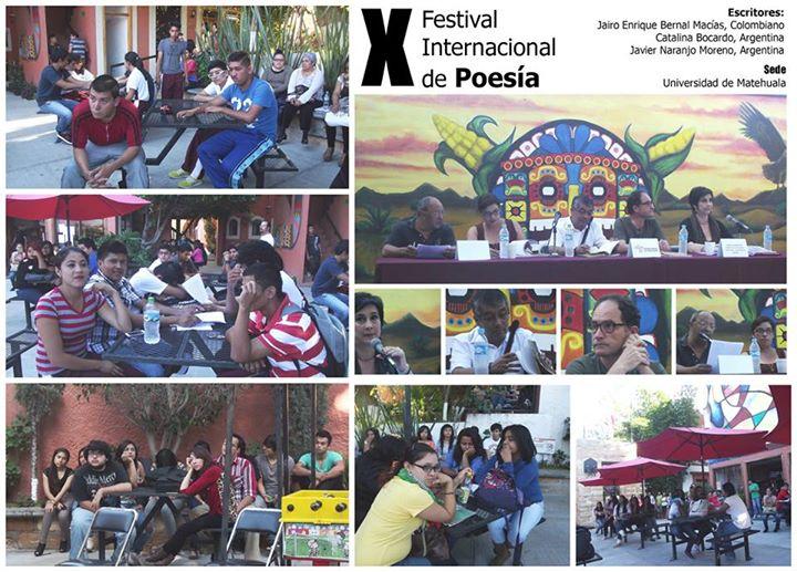 X Festival Internacional de Poesía, México, 2014