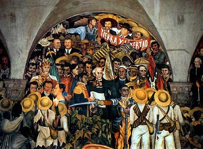 DIEGO RIVERA muralista mexicano