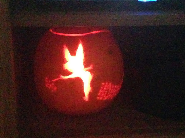 tinkerbell pumpkin tutorial
