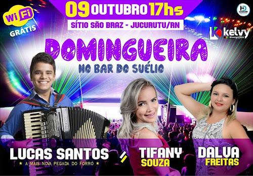 DOMINGUEIRA NO BAR BEIRA RIO EM JUCURUTU/RN