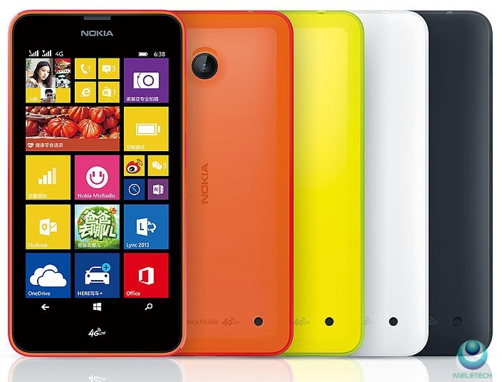 Spesification and price Nokia Lumia 638
