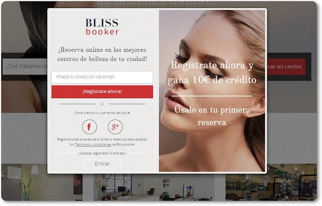 BLISSBOOKER tus citas de belleza ¡resérvalas online!