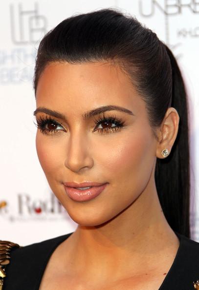 Designer Makeup Looks Kim Kardashian