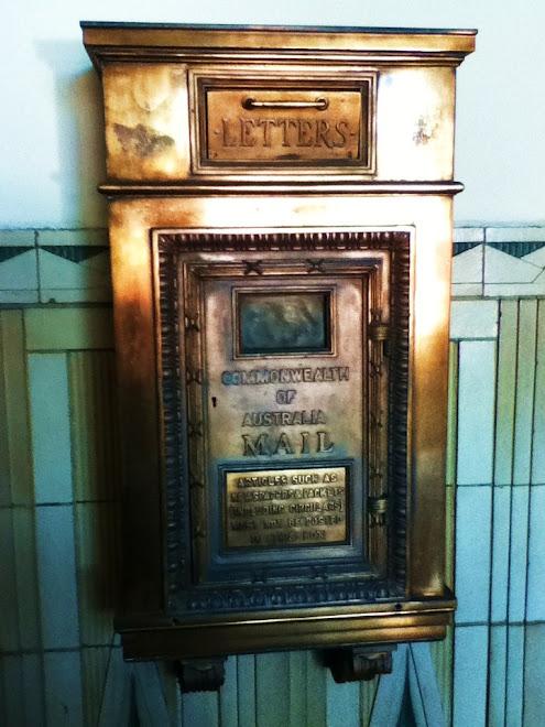 Atlas Building's original Letterbox in Entrance