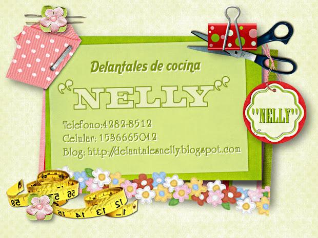 Delantales de cocina nelly for Delantales de cocina