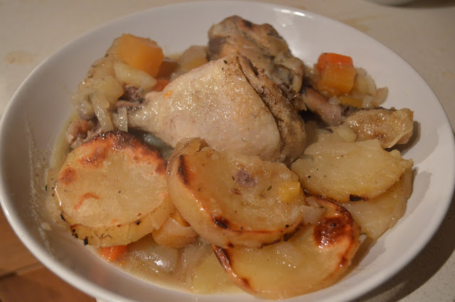chicken and potato one pot