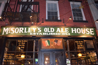 Where to eat, NYC, tavern bar, McSorley
