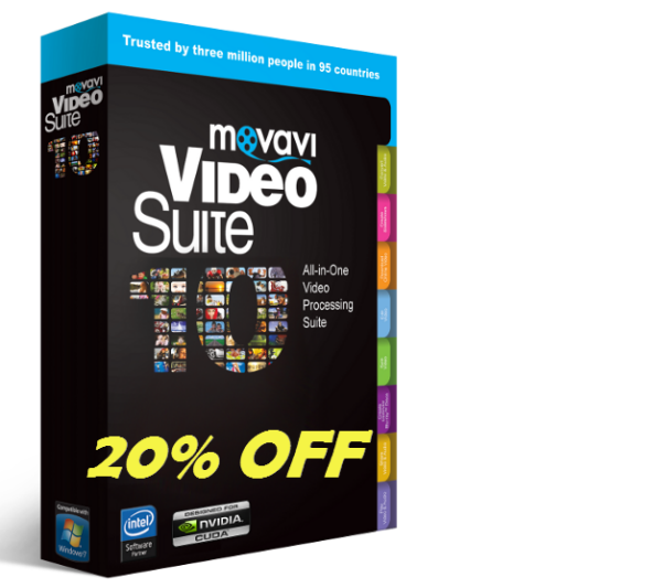 Movavi video suite discount coupon