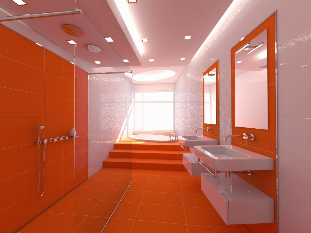 kombinasi warna orange
