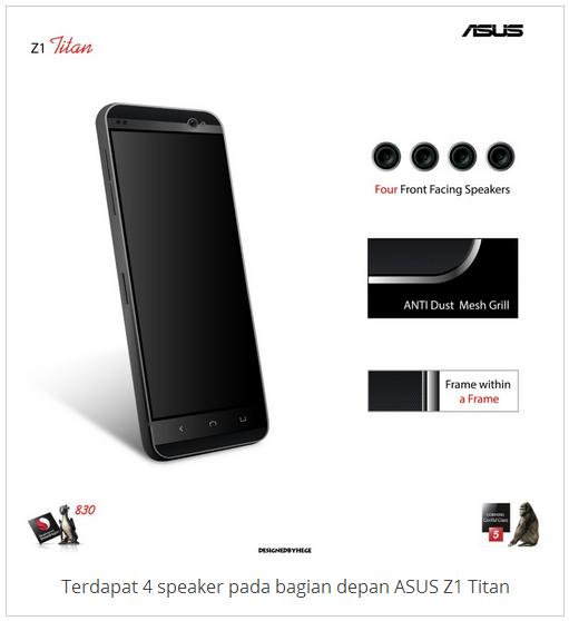 SUS Z1 Titan Smartphone Gahar RAM 6GB