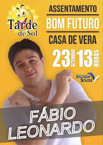 Fábio Leonardo neste dia 23 de Setembro no Assentamento Bom Futuro, em Campo Grande