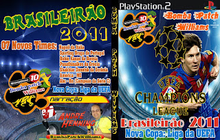 Baixar Bomba Patch Williams UEFA 2011: PS2 Download games grátis