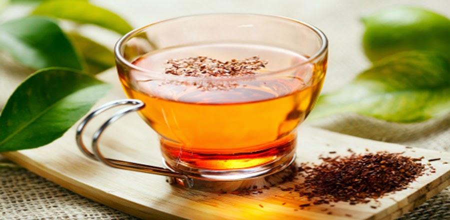 teh merah rooibos terdapat di dalam cinch energy tea mix