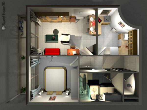 Dise o de interiores arquitectura sweet home 3d una for Aplicacion para diseno de interiores