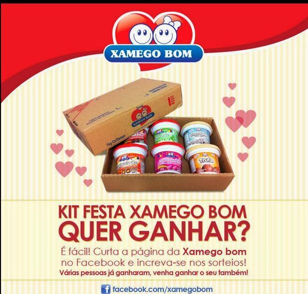 Concorra a um kit Xamego Bom no Facebook