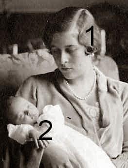 Sophie et Christina de Hesse-famille royale de Grèce