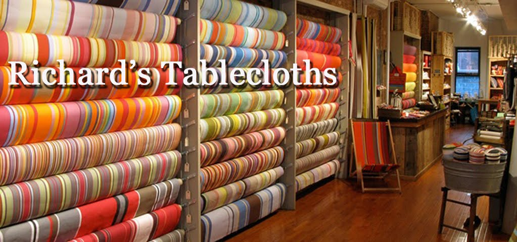 Richardu0027s Tablecloths