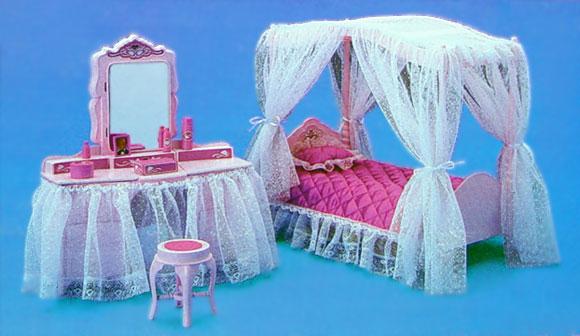 Te lo ricordi mica...: Giocovedì: Il Letto di Barbie Luce di Stelle ...
