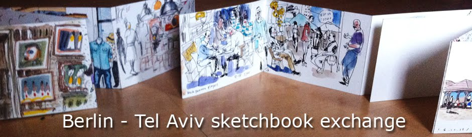 Berlin-Tel Aviv Moleskine  exchange