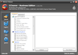 CCleaner 3.19.1721 Professional / Business Edition