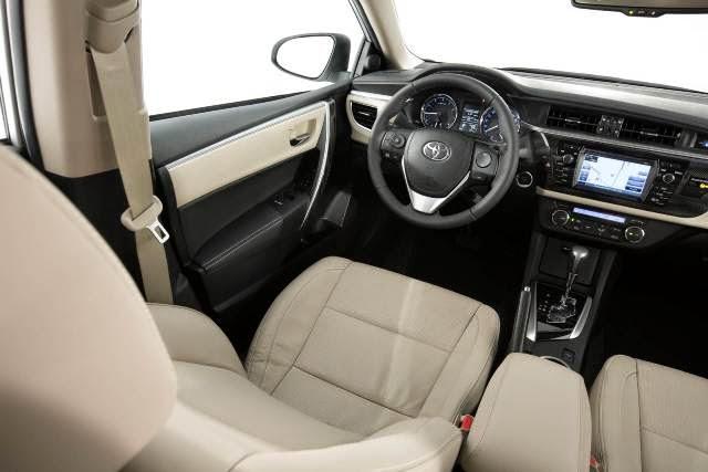 Toyota Corolla 2015 interior painel