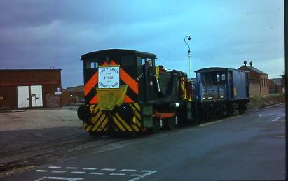Last Train prepared