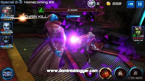 Crea tus vengadores y unete en la batalla de MARVEL Future Fight