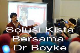 Klik gambar di bawah untuk informasi Solusi Kista bersama Dr. Boyke Dian Nugraha Sp.OG MARS