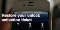 How to Restore SAM Unlock Activation