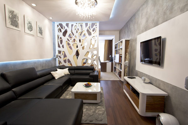 Una oficina moderna y din mica ideas para decorar for Oficina moderna en casa