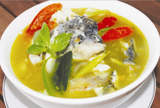 Resep Sup Ikan Gurame Bening, Cara Membuat Sup Ikan Gurame Bening