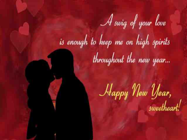 lovely new year 2016 romantic love quotes in english with