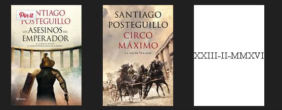 Trilogía de Trajano de Santiago Posteguillo Epub y Mobi D.D.