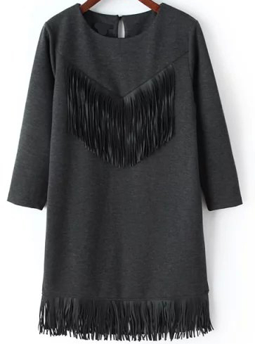 http://www.romwe.com/Long-Sleeve-Fringe-Straight-Grey-Dress-p-142139-cat-726.html?SASSource=cjunction&utm_source=cj.com&utm_medium=affiliate&affiliateID=2178999-1909792