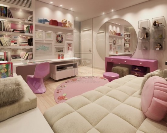 Cool teen girls design bedrooms inspiring bedrooms design for Bedroom designs for young ladies