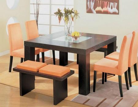 kumpulan desain meja makan modern - desain rumah minimalis