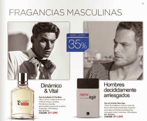 Perfumes para caballeros CL C-5 2015