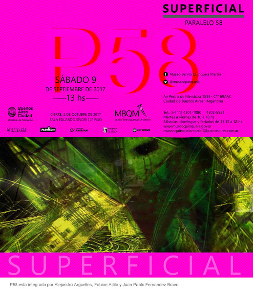 "Llega ""Superficial"" al Museo Quinquela, Bs As"