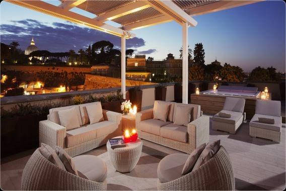 Salotti Allaperto : Hotel e resort da sogno: il melìa roma bellezza e benessere