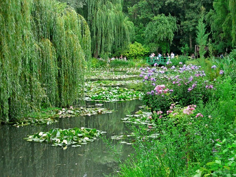 GardenEnvy Claude Monets Garden Leaves A Surreal Impression