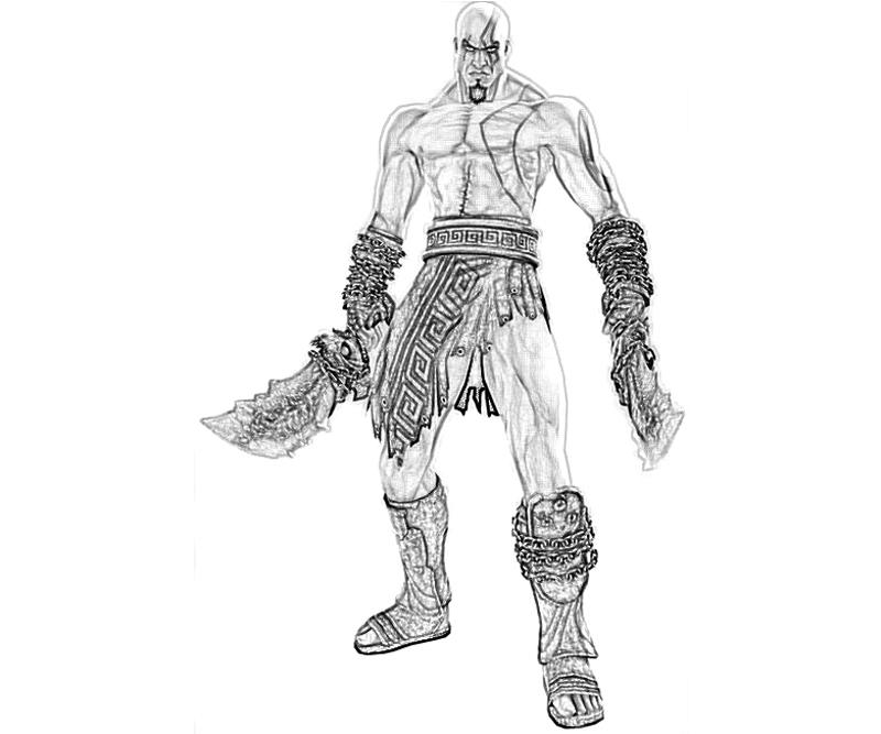 god of war coloring pages - photo#16
